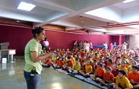 Kids & Conservation; Awareness Program In School