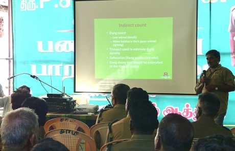 Training Program on Wildlife Census Collection in Karnataka