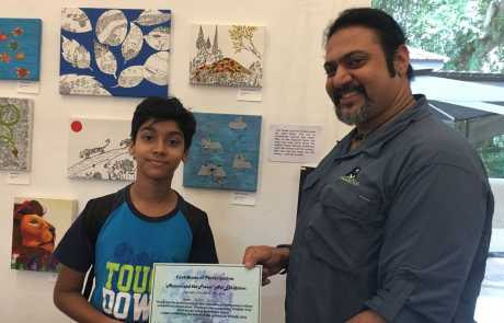 Young Artists In Singapore Come Together To Support WSOS