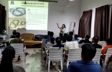 Team WSOS Conducts Awareness Workshop On World Snake Day