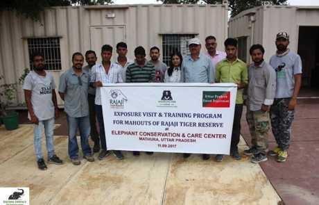 WSOS & Forest Dept. Organises Training Workshop For Rajaji National Park Staff