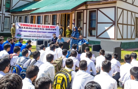 Cleanliness Drive for Habitat Protection in Jammu and Kashmir