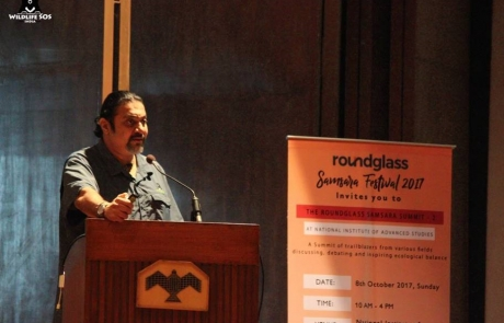 Kartick Satyanarayan Speaks At The Environmental Summit During Samsara Fest