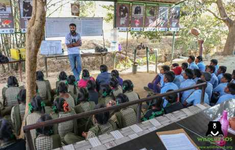 WSOS & Karnataka Forest Dept Join Hands To Instill Wildlife Awareness In School Kids