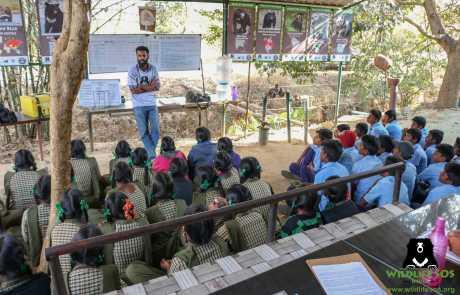 WSOS & Karnataka Forest Dept Join Hands To Instill Wildlife Awareness In School Kids
