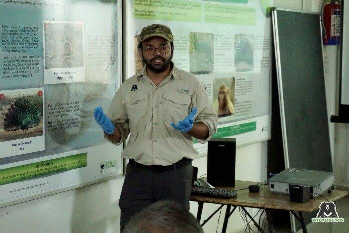 Mr. Wasim Akram gave an elaborate presentation on snake identification and snake first aid.
