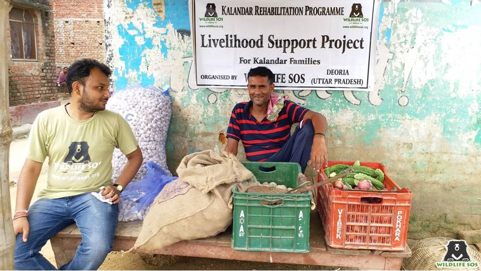 The Livelihood Support Program run by WSOS to help the community members.