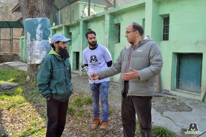 Yasin also gives educational tours and conducts awareness campaign on human-bear conflict mitigation.