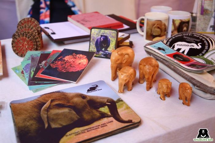 WSOS merchandise displayed at the Bird Festival.