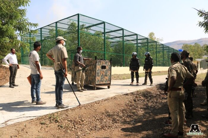A mock drill was also conducted at the Centre.