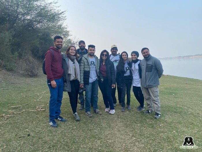 Suvidha with our team in Agra and Delhi at the Founders' Tour.
