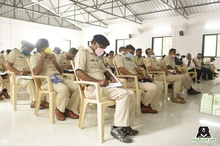 Ahmednagar Forest Department Officers receive training