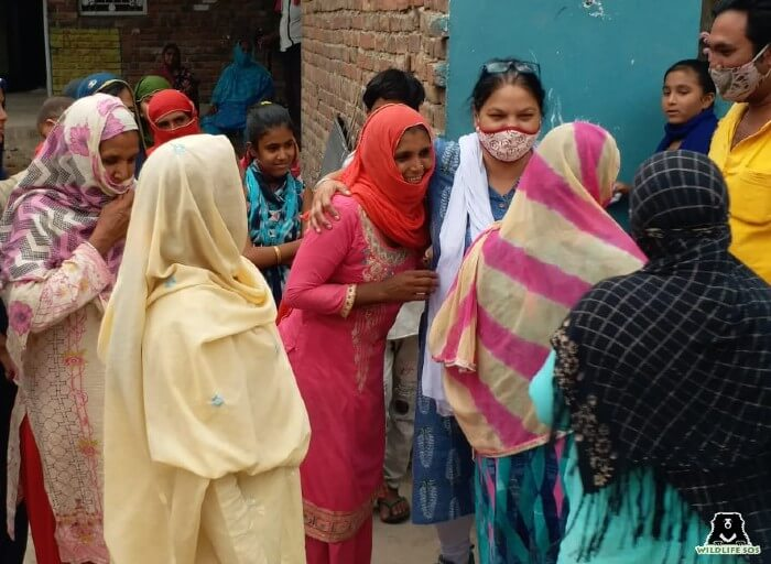 Wildlife SOS has also assisted the community during COVID19, all of it headed by Rakhee Sharma.