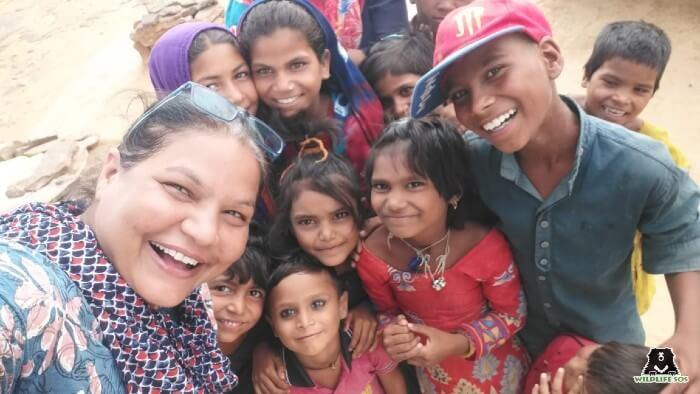 All happy faces with the support of the Kalandar education programme!